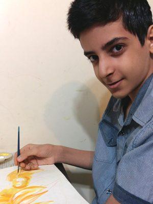 محمدامین فدایی . ۱۱ساله . سال ۹۶