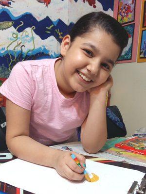 مهربان صالح ایمن . ۱۰ساله . سال۹۶