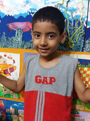 سید داوود عظیمی . ۷ ساله . سال۹۶