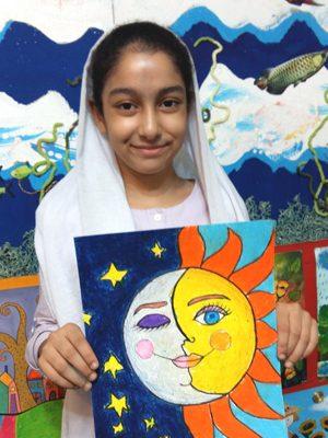 مهسا نجفی .۱۱ساله .سال۹۶
