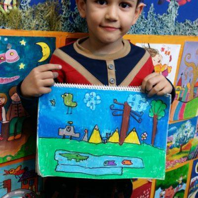 ماکان طاهری . ۷ ساله . سال۹۶