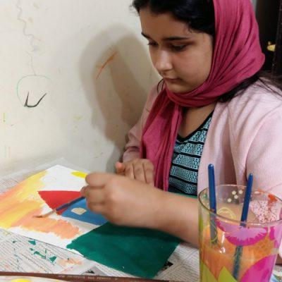 آیسا اربابی .۱۰ساله . سال۹۶