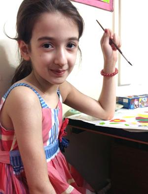 روژان حاتمی . ۹ساله . سال۹۶