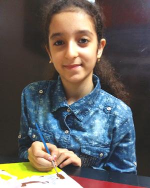 رومینا یوسفی . ۱۱ساله .سال۹۶