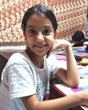 مهسا رضایی . ۱۱ساله .سال۹۶