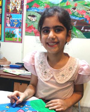 روژان مومنی . ۷ ساله . سال۹۶