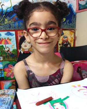 نیلا مولاپناه . ۸ ساله . سال۹۶