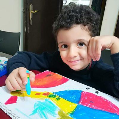 صدرا ابوالقاسمی .4 ساله .سال۹۶
