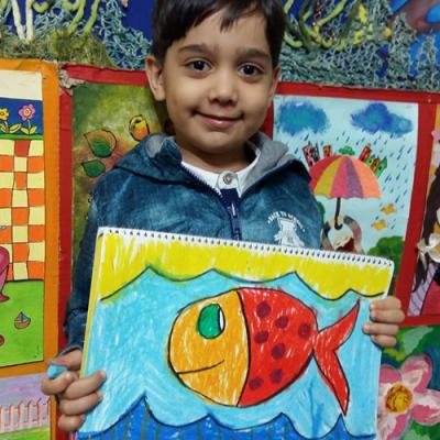 کامیار فتح الله زاده . ۵ ساله . سال۹۶