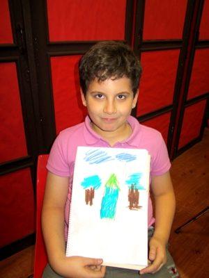 نيما فرامرزي . ۷ ساله . سال ۹۲