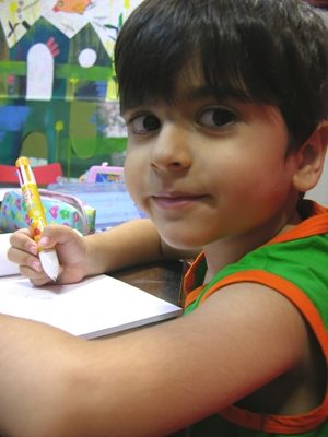پارسا فرمانده بحري . ۵ ساله . سال ۹۲