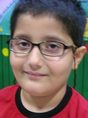 محمد صدرا اسد پاسكي . ۸ ساله . سال ۹۲