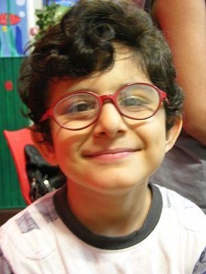 اشكان حسين زاده . ۵ ساله . سال ۹۲