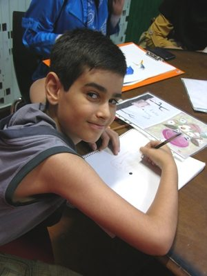 محمد علي دروي . ۱۰ ساله . سال ۹۲