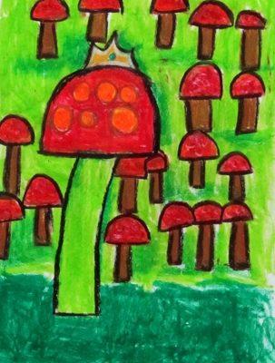 نقاشي خلاق . اثر آرتين آذرنژاد . ۶ ساله . سال ۹۲