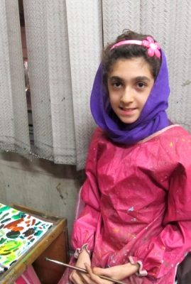 فاطمه طاهری . ۱۲ ساله . سال ۹۲