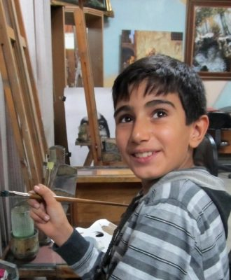 امیر محمد پور اکبر . ۱۰ ساله . سال ۹۲