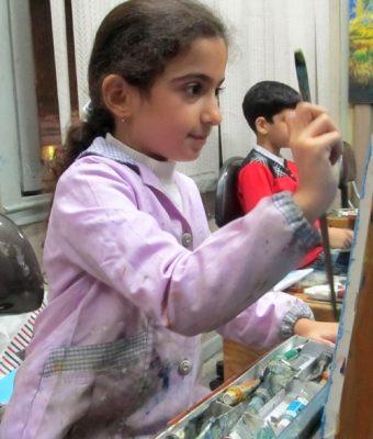 پانيد ميرزازاده . ۸ ساله . سال ۹۲