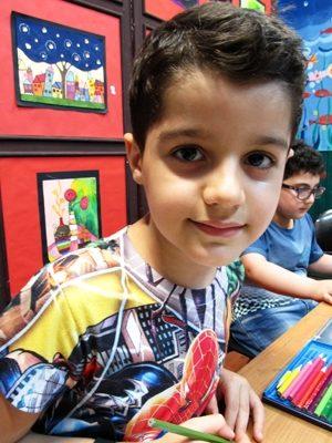 مانی رضایی . ۸ ساله . سال ۹۴
