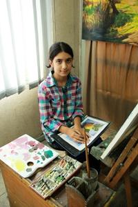 آريانا امير شنوا . ۱۱ ساله . سال ۹۳