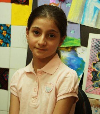 آناهيتا بخشوده . ۱۰ ساله . سال ۹۳