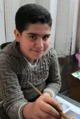 اشکان جعفرنژاد . ۱۱ ساله . سال ۹۲