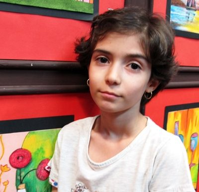 امیرمحمد تقی زاده . ۷ ساله . سال ۹۴
