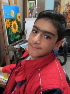 رامتین حسین نژاد . ۱۲ ساله . سال ۹۲