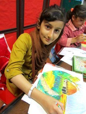 حنانه آذرگون . ۱۱ ساله . سال ۹۲