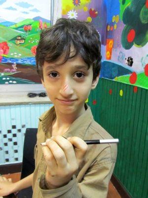 دانيال محمدي . ۸ ساله . سال ۹۲