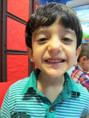 امير علي جوادي نژاد . ۵ ساله . سال ۹۲