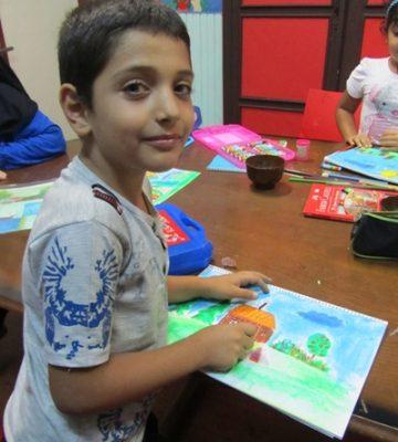 محمدرضا سليماني . ۹ ساله . سال ۹۲