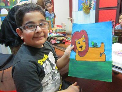 مير ايمان عبدالله زاده . ۹ ساله . سال ۹۲