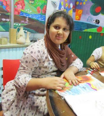 مريم يوسفي پور . ۱۱ ساله . سال ۹۲