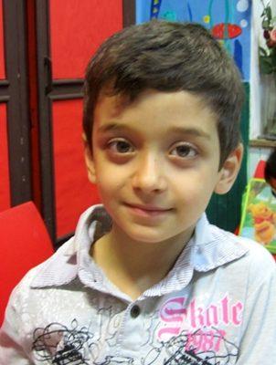 عليرضا حسن زاده . ۶ ساله . سال ۹۲
