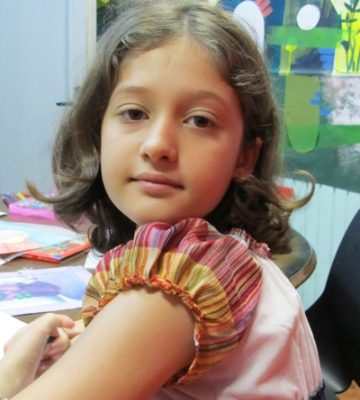 حنانه محمدجاني . ۱۰ ساله . سال ۹۲
