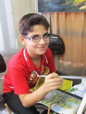 محمد عاشوري . ۱۰ ساله . سال ۹۳