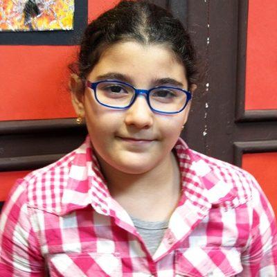 پارمیدا رهنما . ۱۰ ساله . سال ۹۴