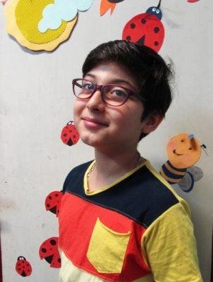 عادل محمدی . ۱۱ ساله . سال ۹۴