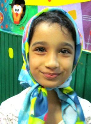 آيدا قلي پور . ۷ ساله . سال ۹۲