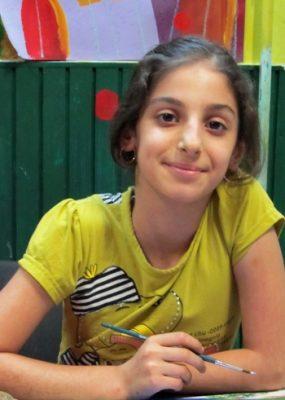 تينا يوسفي صفت . ۱۱ ساله . سال ۹۳