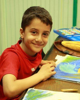 ياسين مبصر . ۷ ساله . سال ۹۳