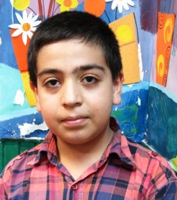 محمد رضا جلیلی . ۱۲ ساله . سال ۹۴